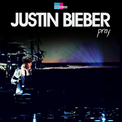 Justin Bieber - Pray (AMA's 2010) (FanMade Single Cover). Made by vinaixa67