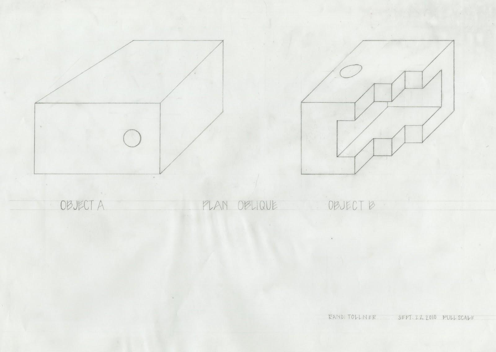 Plan Elevation Oblique : Randi tollner plan oblique and isometric
