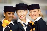Lufthansa cabin crew