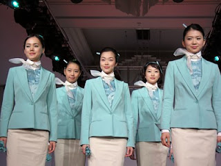 Korean Air flight attendants