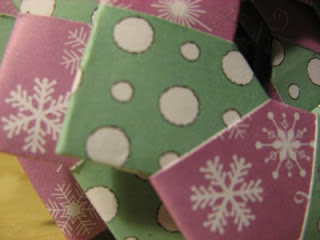 Sneaky Peek - origami decorations - Jimjams