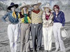 Cowgirl Line Up 1927