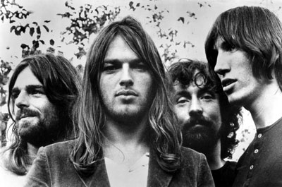 Pink Floyd - Rick Wright, David Gilmor, Nick Mason & Roger Waters.