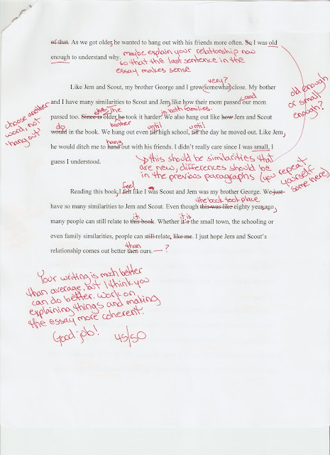 compare and contrast essay on to kill a mockingbird book and movie