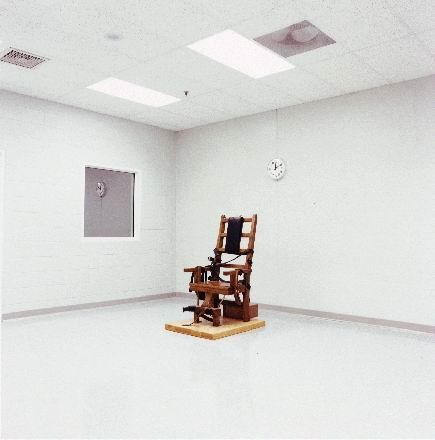 Lutte pour la justice ex cution d 39 un condamn aux etats unis sur la chaise lectrique - Execution chaise electrique ...