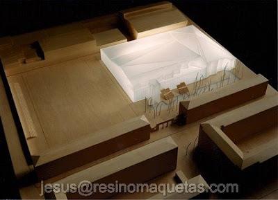 Resino maquetas palacio de hielo bilbao for Oficinas bbva toledo