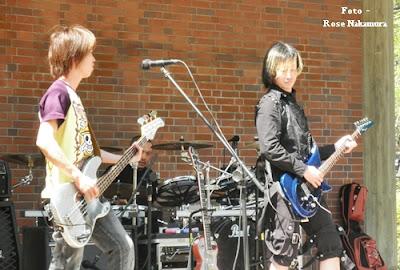 show de rock no Japão