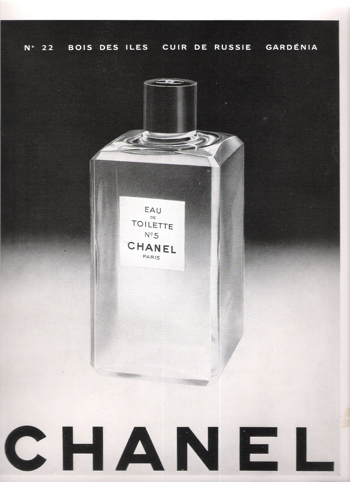 Atomic Cafe Vintage French Chanel Ads
