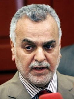 Iraqi Vice President Tariq al-Hashimi