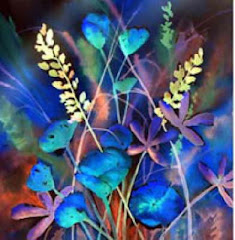 Blue Poppies, Sr Kristin Haugen, ocdh, Hermitage Arts