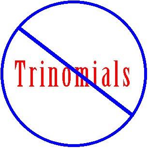 Factoring trinomials calculator a 1