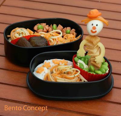 Bento concept diable en bo te for Jack in the box fish