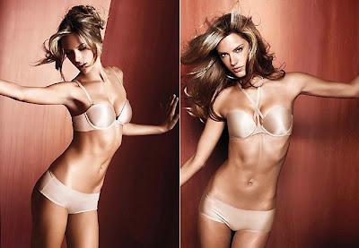 Alessandra Ambrósio faz ensaio de lingerie para Victoria's Secret