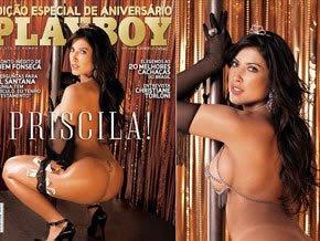 Priscila conta fantasias sexuais e diz aquerer casar e engravidar em 2010
