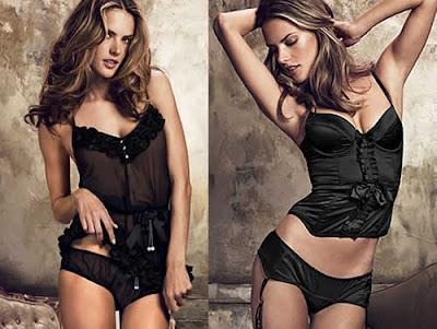 Alessandra Ambrósio: Lingeries Victoria's Secret