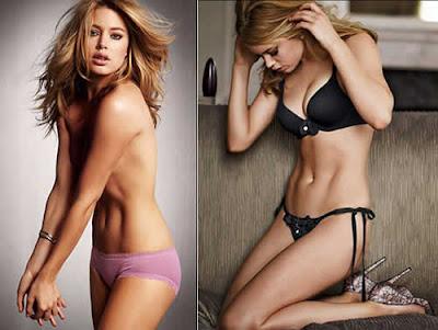 Doutzen Kroes: Sexy de lingerie da Victoria's Secret