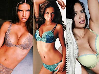 Modelo de lingerie mais sexy do mundo: Adriana Lima