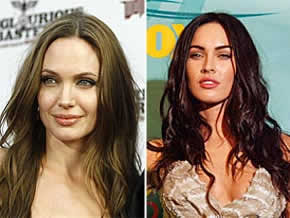 Medo: Megan Fox vs Angelina Jolie