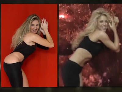 Josy vira Shakira por um dia