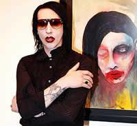 Marilyn Manson está com gripe suína