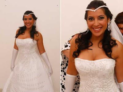 Vestido de Noiva: Priscila em desfile