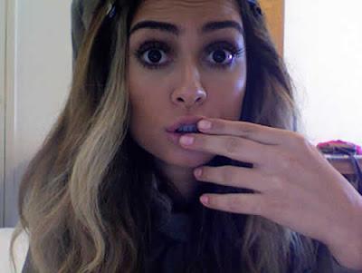 Thaila Ayala fica loira para sessão de fotos