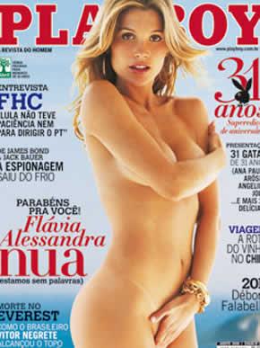 Flávia Alessandra na Playboy: Ela diz não