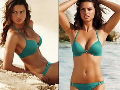 Victoria's Secret: Adriana Lima de biquini