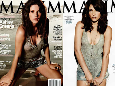 Ashley Greene na revista Maxim
