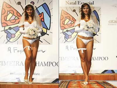 Nana Gouvêa: noivinha sexy