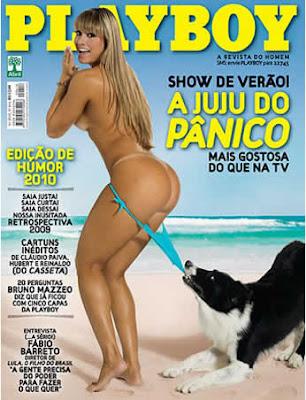 Juliana Salimeni nua na Playboy de Janeiro 2010