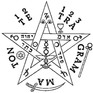 Historia del Pentagrama Esoterico o Tetragrammaton