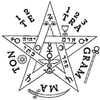 Historia del Pentagrama Esoterico o Tetragrammaton