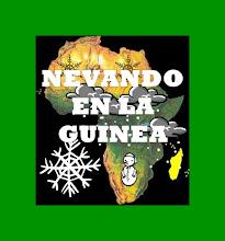 Web de Nevando en la Guinea