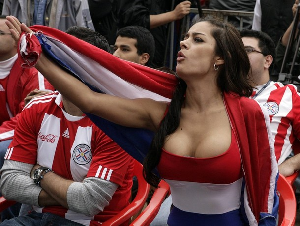 foto foto Larissa Riquelme Model Seksi dan Cantik Siap Foto Bugil Kalau Paraguay Juara