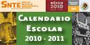 CALENDARIO ESCOLAR 2010-2011