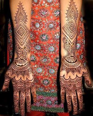 1 - Bridal Mehndi designs