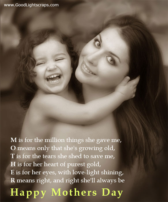 mothers day poems. Mothers Day Poems From