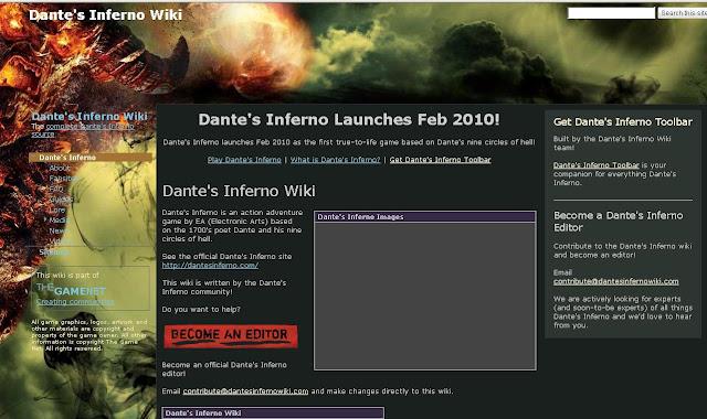 Www.dantesinfernowiki.com - Dantes Inferno Wiki - Dante's Inferno Wikipedia