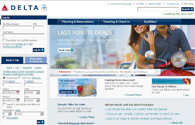 Www.Delta.com - Delta Airlines Reservations - Air Lines Ticket Booking Online