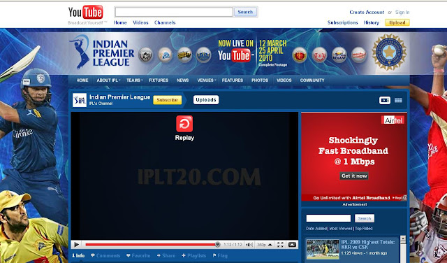 Www.youtube.com/IPl, youtube.com/IPl, Watch IPL live, watch ipl online, ipl live streaming, ipl online streaming, ipl on youtube