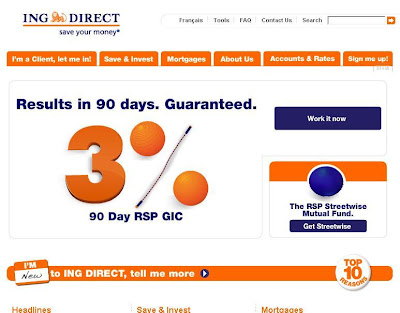 ING DIRECT Canada : Login to Personal Account at www.ingdirect.ca