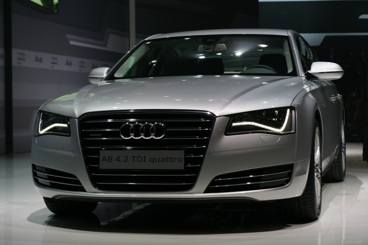 new audi a8 to launch in diwali price specs photos. Black Bedroom Furniture Sets. Home Design Ideas