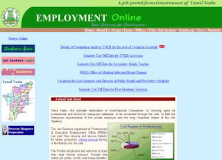 Tamilnadu Employment Exchange Online Registration Guide at employment.tn.gov.in