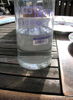 בקבוק וודקה מגן דוד