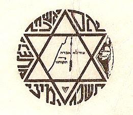 מפת ארץ ישראל בתוך ומחוץ למגן דוד