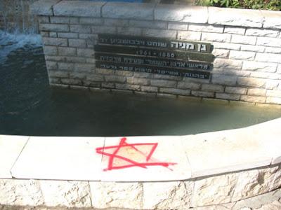 מגן דוד אדום ונדליזם