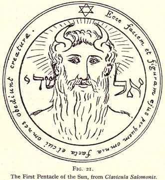 Eliphas Levi, Talisman Solomon's seal