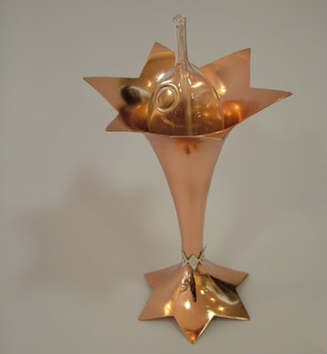 Tabernacle Menorah shaped Star of David