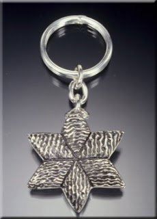 Key Chain Jewish star